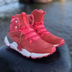 Pink Suede Nubuck Winter Boot